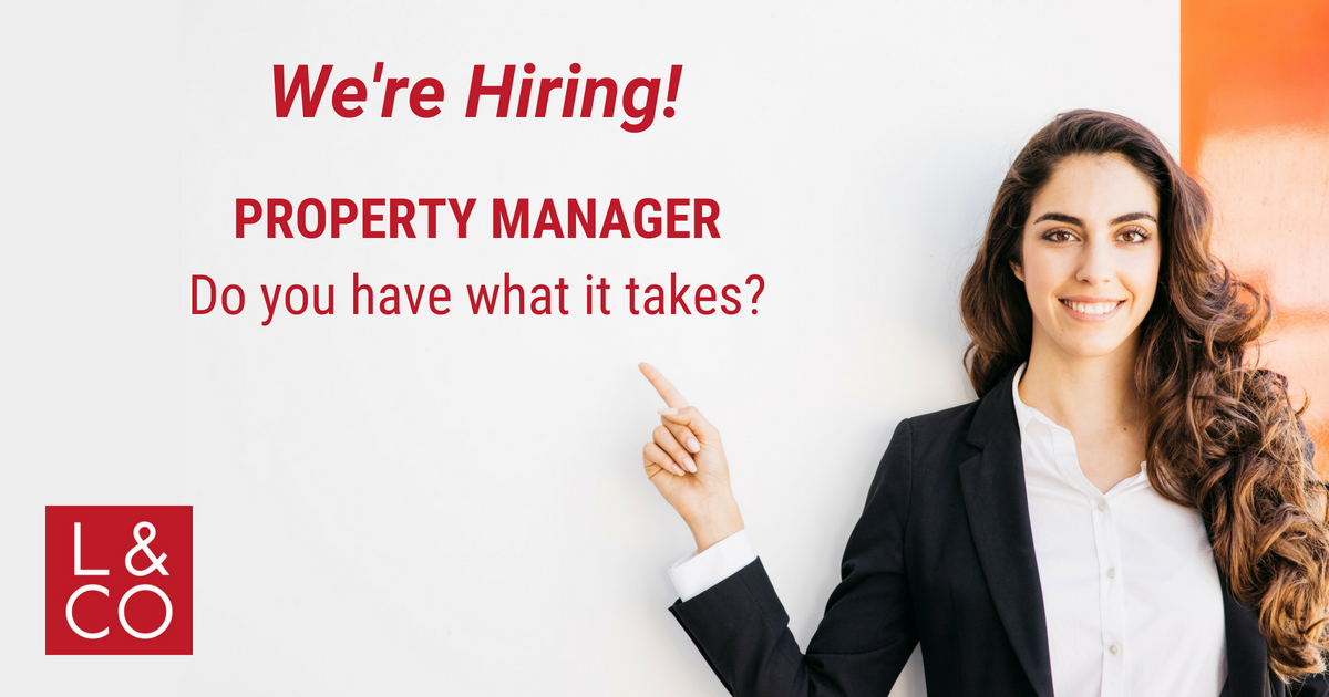 property manager hiring