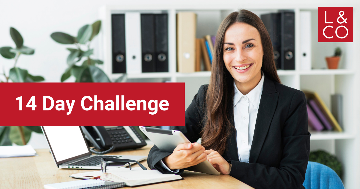 14 Day Challenge by a letting agent