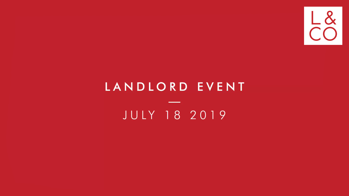 Luscombe and Co Landlord Event